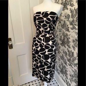 Banana Republic womens strapless dress. Size 10